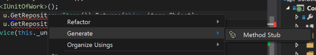 generate-method-stub